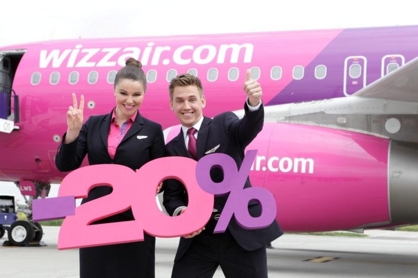wizzair discont