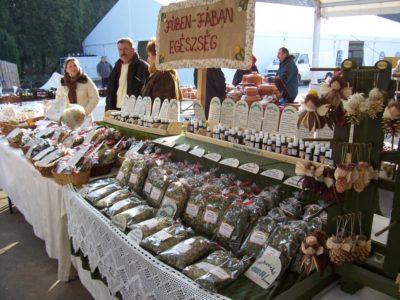 Рынок в Хевизе