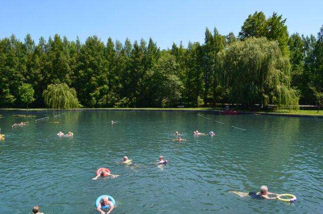 Термальное озеро Хевиза