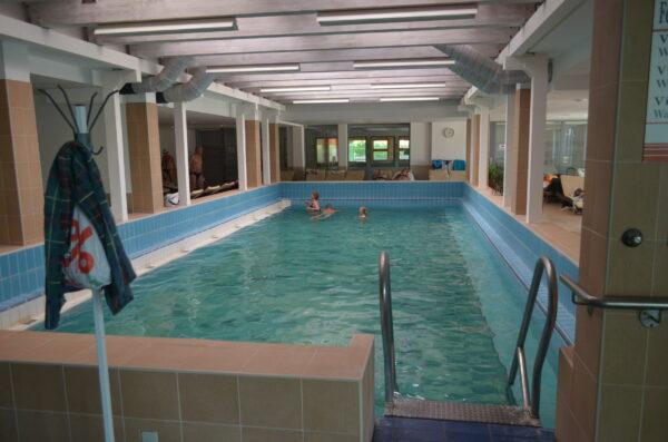 Крытый термальный бассейн в Залакароше