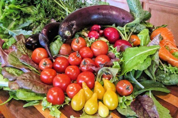 Соотношение овощей и фруктов в средиземноморье