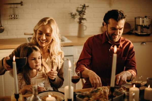 Семейный средиземноморский ужин помогает худеть