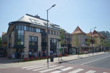 Центральная улица в Хевизе, Венгрия