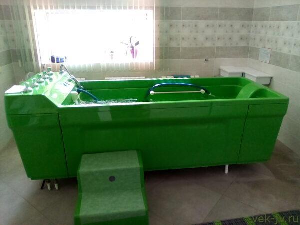Радоновые ванны в санатории Радон