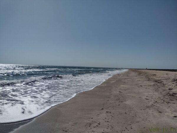Пляж Казантипской Бухты